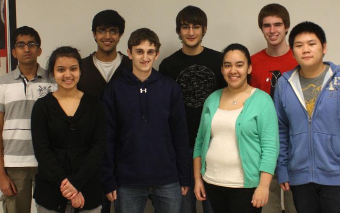 Niles West Math Team. Photo by Alyssa Guzman.