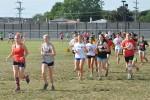 Girls Cross Country Practice
