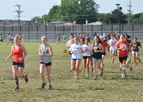 2013 girls cross country preview niles west news for Cross country awards ideas