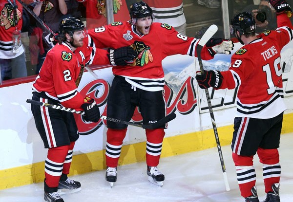 NHL Finals: Game 5, Boston at Chicago