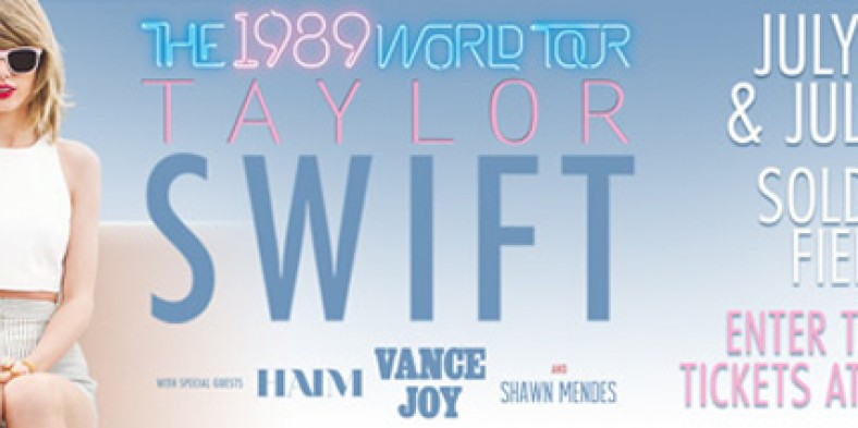 Contest: Win 2 Free Tickets to Taylor Swift!