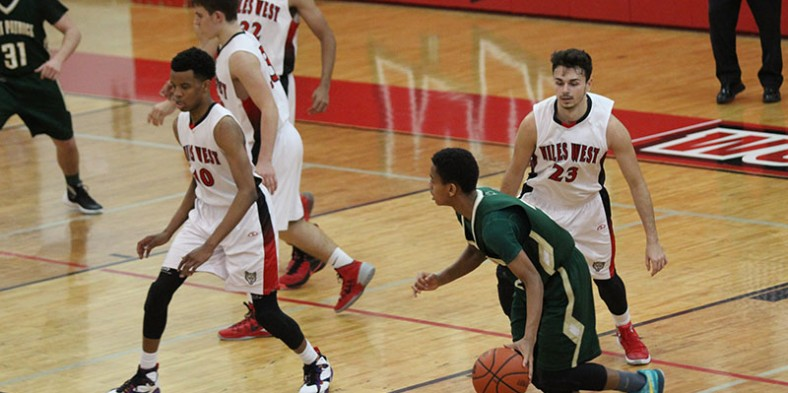 Boys Varsity Basketball: West vs St. Patricks