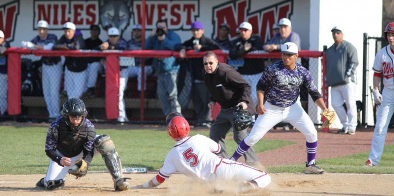 Boys Baseball: West vs North