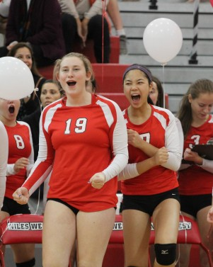 Photos: Girls Varsity Volleyball: West vs Glenbrook South