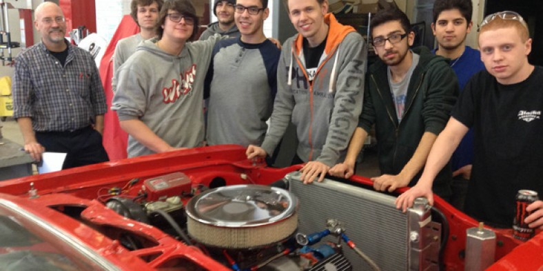 Auto Club: A Team Effort