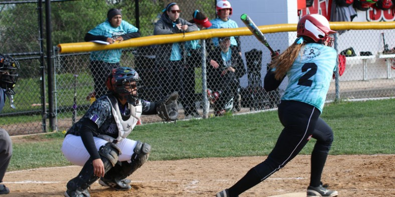 Girls Varsity Softball: West vs North