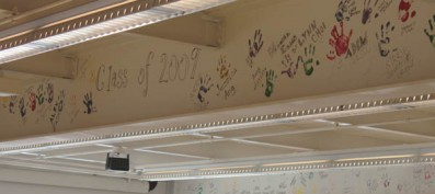Senior Hand Prints to Take Place in the Student Commons