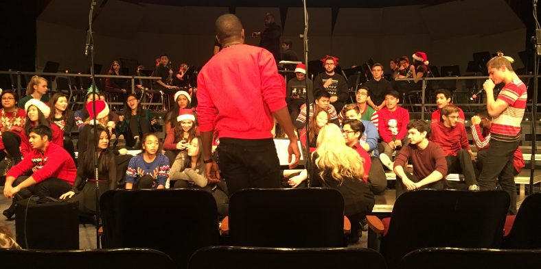 Kicking Off the Holiday Season with the Music Department