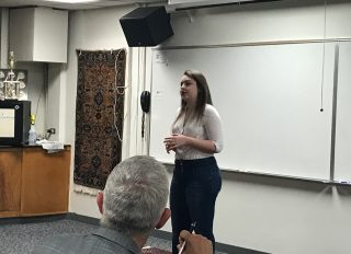 Gina Kostovetsky Advances to Poetry Out Loud Regionals