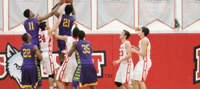 "Boys' Varsity Basketball Team: Men of ""Steal"" vs. Waukegan"