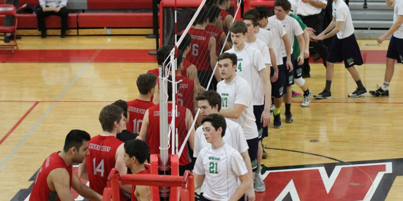 Boys Volleyball: West vs. Notre Dame