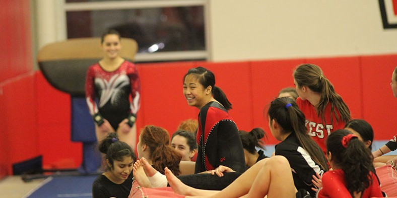 Photos: Girls Gymnastics: West vs Maine South