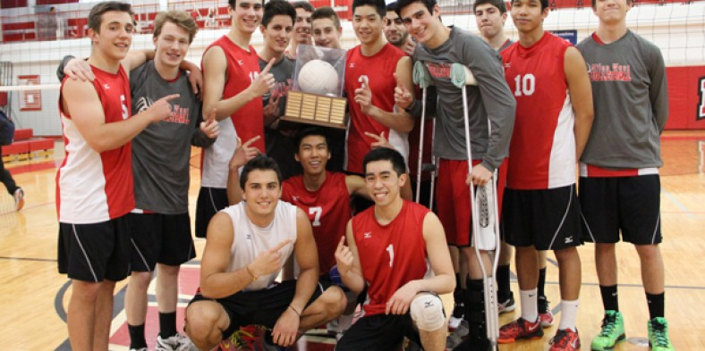 Boys Volleyball Beats North
