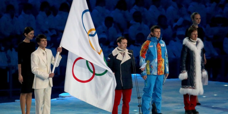 Opening of the 2014 Olympics in Sochi