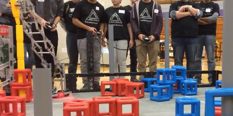 Robotics Club Shoots for National Competition