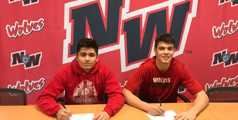 From Wolves to Eagles: Niles West Athletes Participate in National Signing Day
