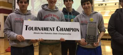 D219 Robotics Teams Advance To World Competition After Earning State Title