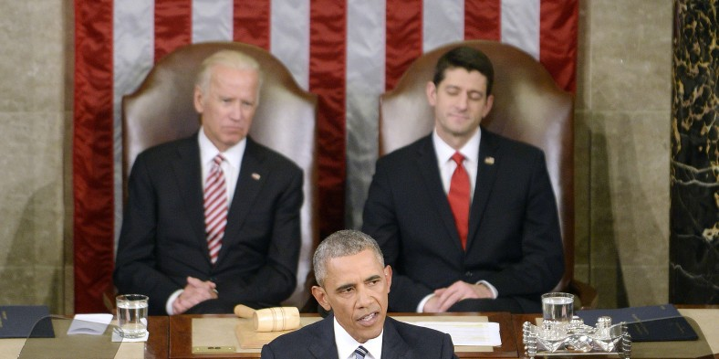 Obama Evokes Hope in State of the Union