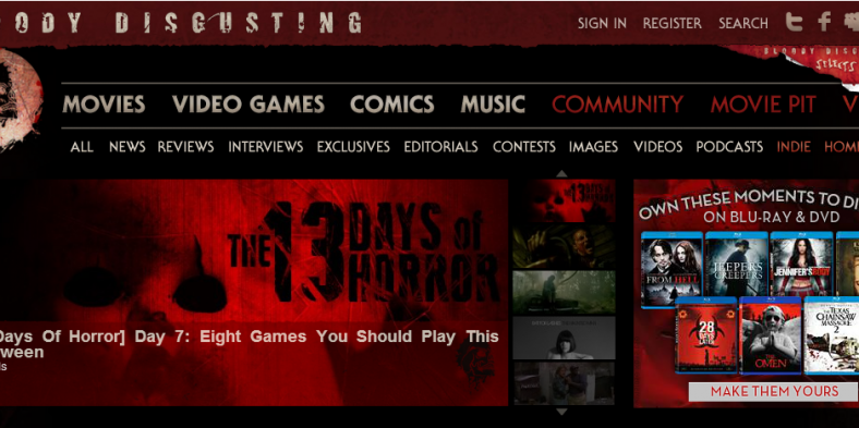 Horror Just One Click Away