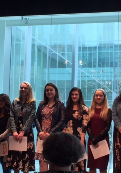 Niles West's Gina Kostovetsky Advances State Poetry Out Loud Competition