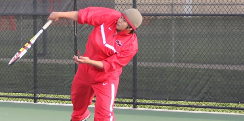 Boys' Varsity Tennis Crushes Niles North 6-1