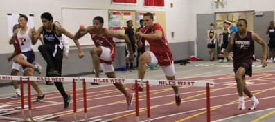 Leaders of the Pack: Varsity Track Jump Starts Its Season