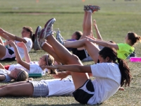 Boys and Girls Cross Country Practice