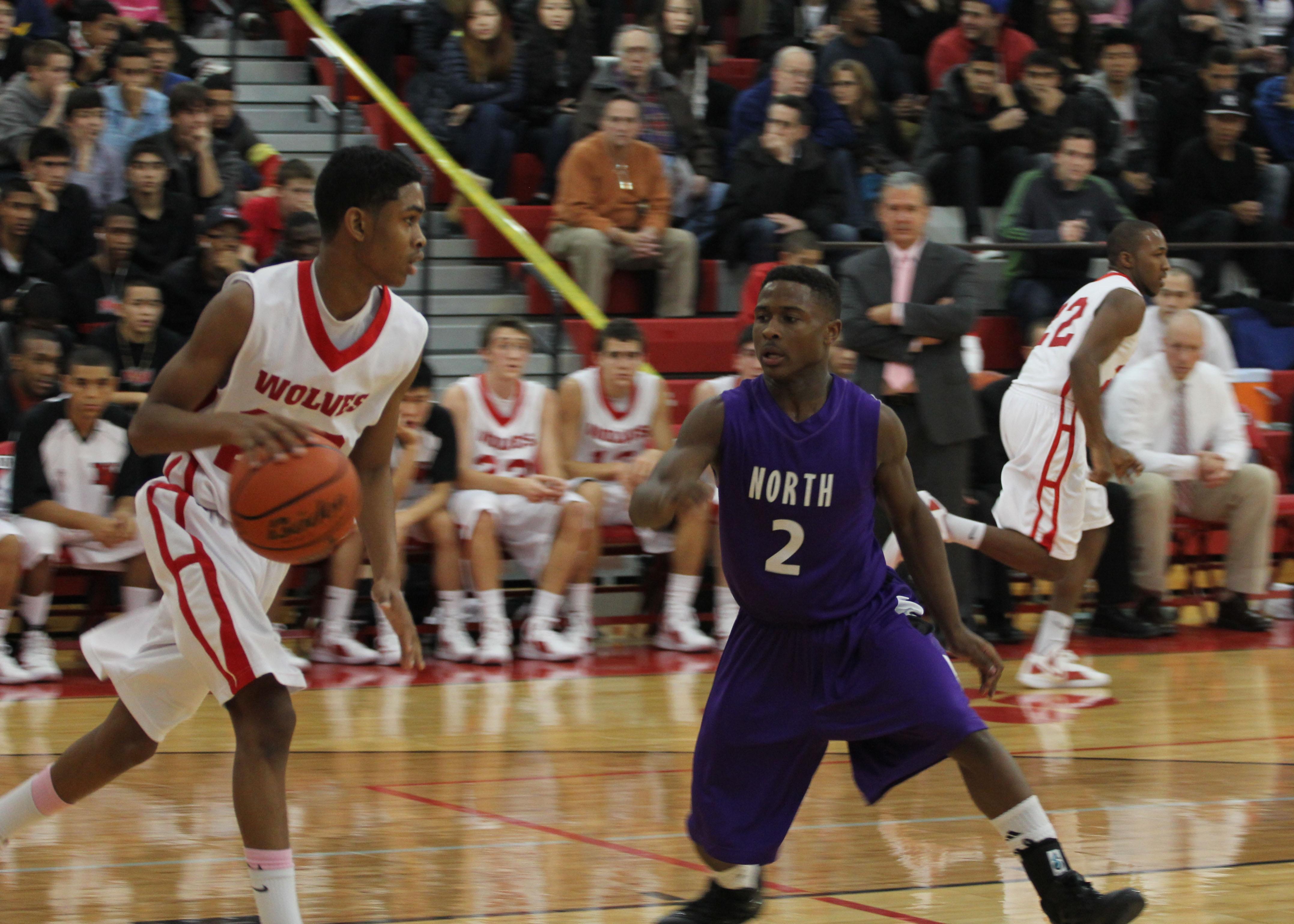 Boys Basketball: West vs. North