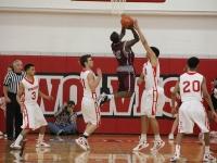 Boys Regional Basketball: West vs. Amundsen
