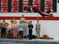 Boys Swimming Senior Night: Niles West vs. Evanston