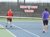 Boys Tennis: West vs Niles North