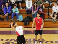 Boys Varsity Volleyball: West vs North