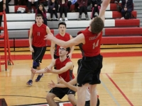 Boys Volleyball: West vs North