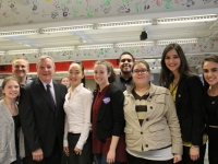 Senator Dick Durbin visits Niles West