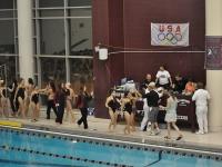 Girls Swimming Northside vs. Niles West