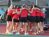 Girls Tennis: West vs North