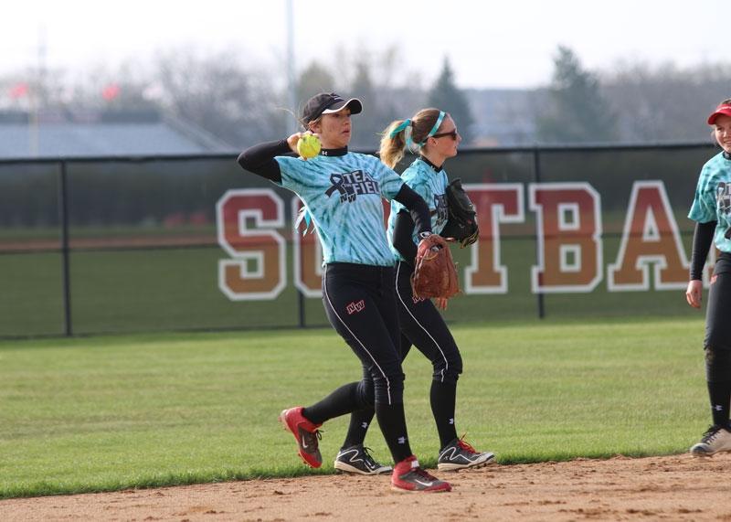 Girls Varsity Softball: West vs North
