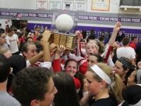Girls Varsity Volleyball: West vs North