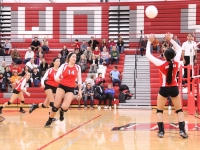 Girls Varsity Volleyball: West vs Glenbrook South