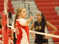 Girls Varsity Volleyball: West vs. Lane Tech