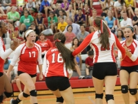 Girls Varsity Volleyball: West vs Lane Tech