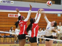 Girls Varsity Volleyball: West vs Lincoln Park