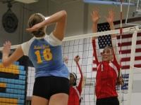 Girls' Varsity Volleyball: West vs Maine West