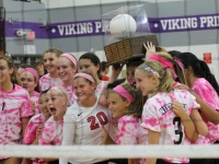 Girls Varsity Volleyball: West vs. North