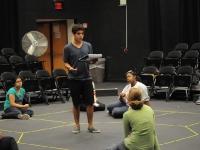 Laramie Project Rehearsal