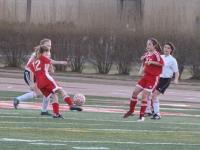 Girls JV Soccer: West vs Deerfield