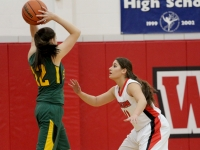 Varsity Girls Basketball: West vs Glenbrook North