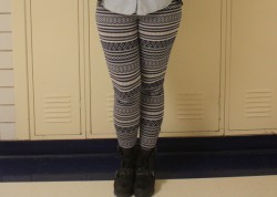 Abercrombie and Fitch leggings.