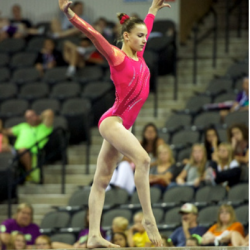 Anastasia Webb competes at 2014 US Jr. Classic. Photo credits to IGI.